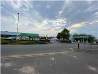 Asda and petrol station